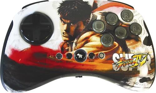 PS3 Super Street Fighter IV Wireless FightPad - Ryu
