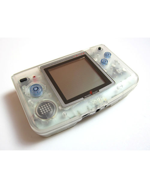 Neo Geo Pocket Color Handheld System - Clear