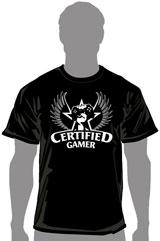 Certified Gamer Champion T-Shirt (LG)
