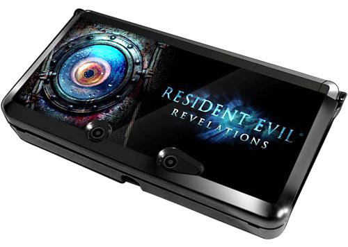 3DS Resident Evil Revelations Protective Case