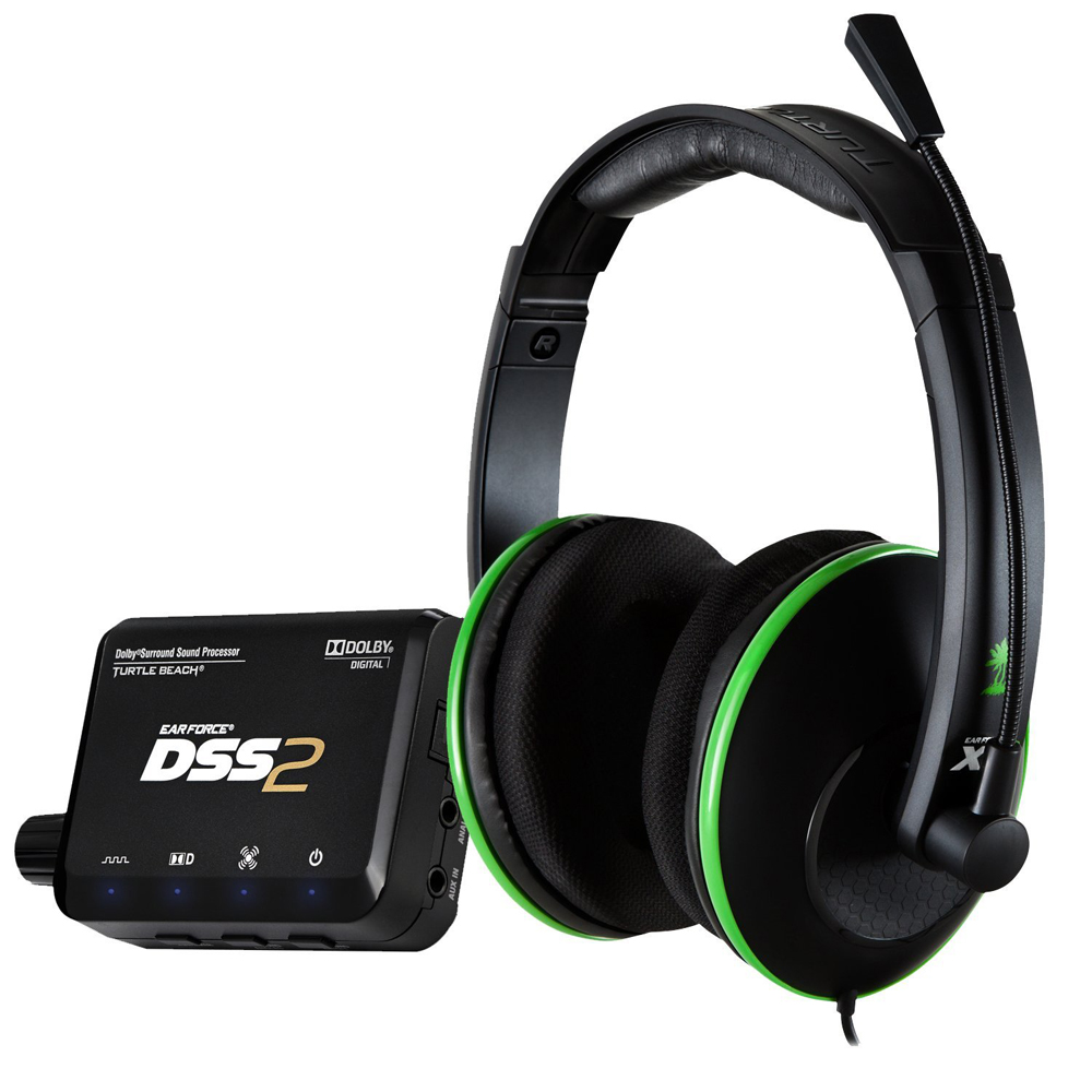 XBox 360 Turtle Beach Ear Force DXL1 Gaming Headset