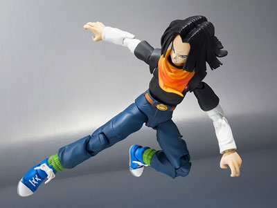 Dragon Ball Z Android 17 S.H.Figuarts 5 Inch Action Figure