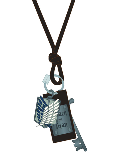 Attack on Titan: Scout Icon Necklace