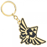 Legend of Zelda Metal Triforce Keychain