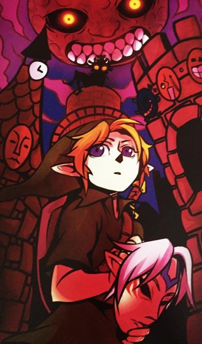 Legend of Zelda: Majora's Mask Digital Print