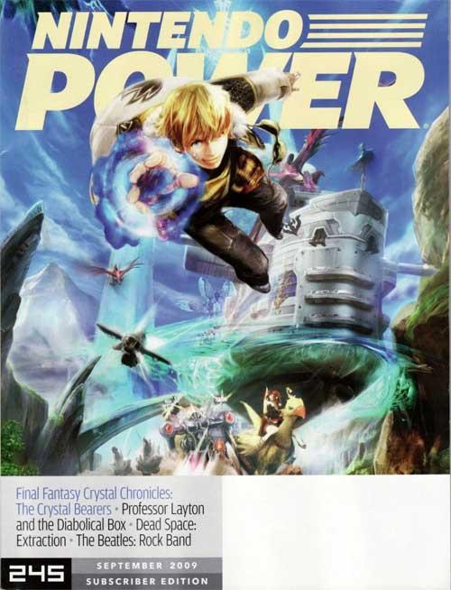 Nintendo Power Volume 245 Final Fantasy Crystal Chronicles: The Crystal Bearers