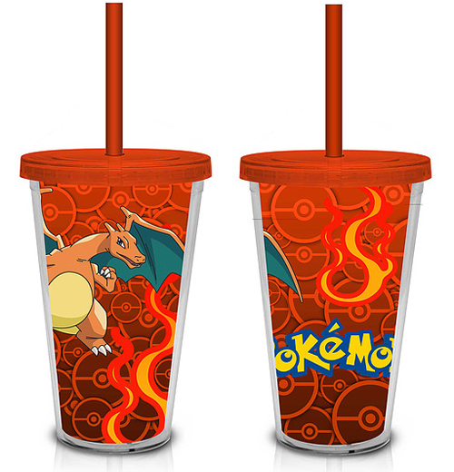 Pokemon Charizard 3D Lenticular 16oz Carnival Cup