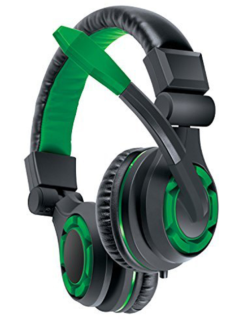 Xbox One GRX-340 Green Gaming Headset By DreamGear