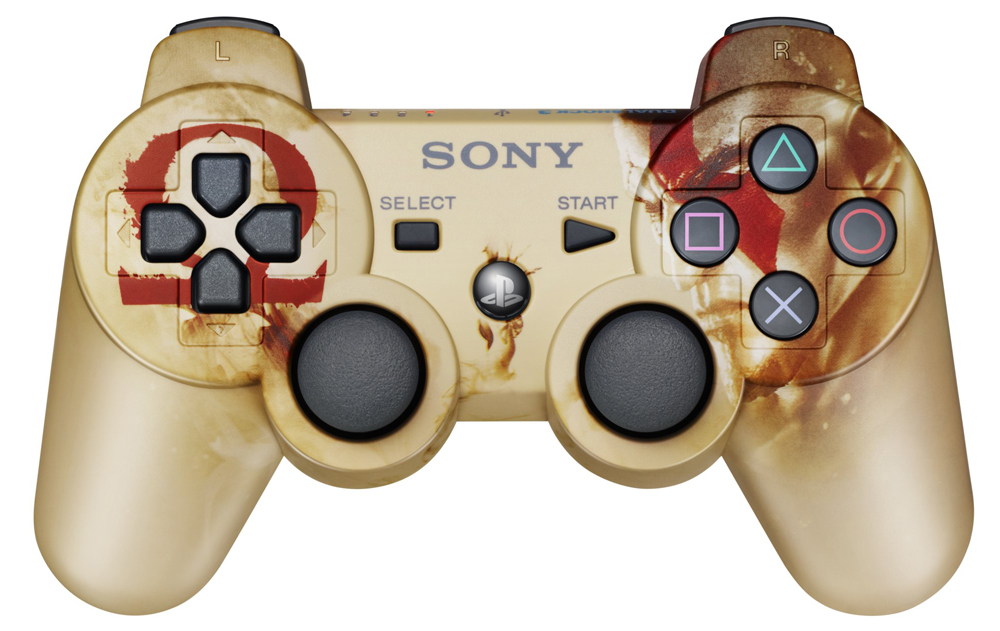 Playstation 3 DualShock 3 Controller God of War Ascension Edition Sony