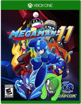Mega Man 11 (Xbox One) boxart