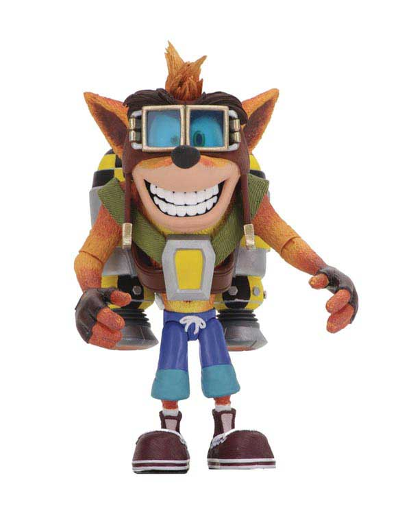 Crash Bandicoot Crash w/ Jetpack Deluxe Action Figure