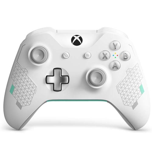 Xbox One S Wireless Controller Sport White