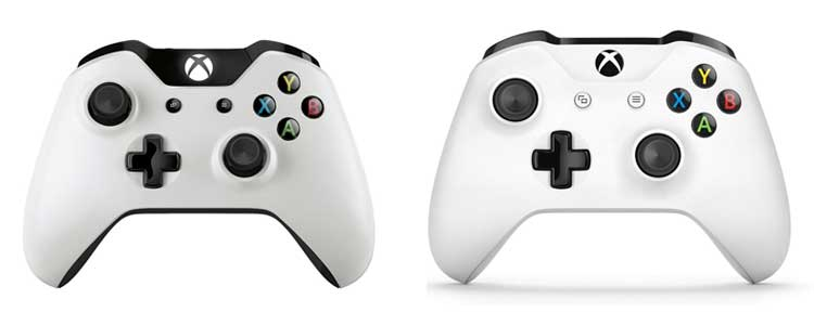 Xbox One Controller difference
