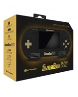 SupaBoy BlackGold Portable Pocket SNES Console