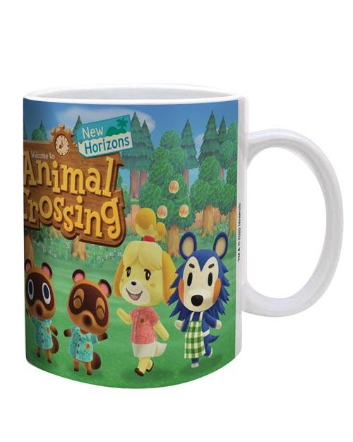Animal Crossing New Horizons Cast Line Up Mug
