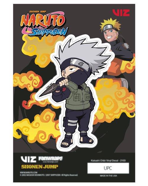 Naruto Shippuden Kakashi Hatake Vinyl Decal
