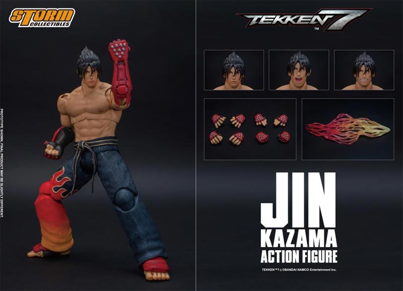 Tekken 7 Jin Kazama Storm Collectibles Action Figure extra img