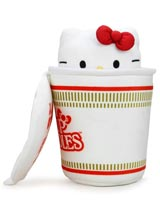 Hello Kitty x Nissin Cup Noodles Fork & Bow Interactive Plush