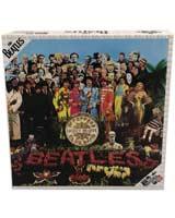 Beatles SGT Pepper Double Sided Album Art 1000 Piece Puzzle
