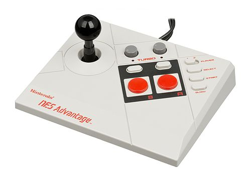 NES Advantage Joystick Controller by Nintendo