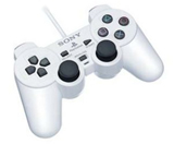 PS2 DualShock 2 Controller Ceramic White By Sony
