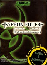 Syphon Filter Unauthorized Strategy Guide Book