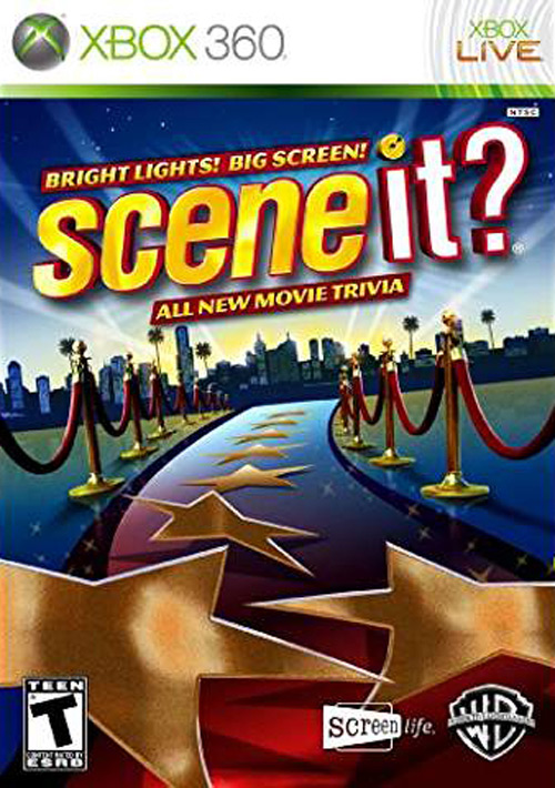 Scene It: Bright Lights Big Screen Game Only
