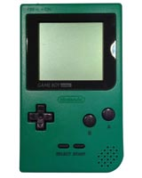 Nintendo Game Boy Pocket System Green