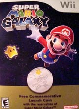 Super Mario Galaxy Commemorative Coin