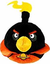 Angry Birds Space 5 Inch Black Bomb Bird Plush