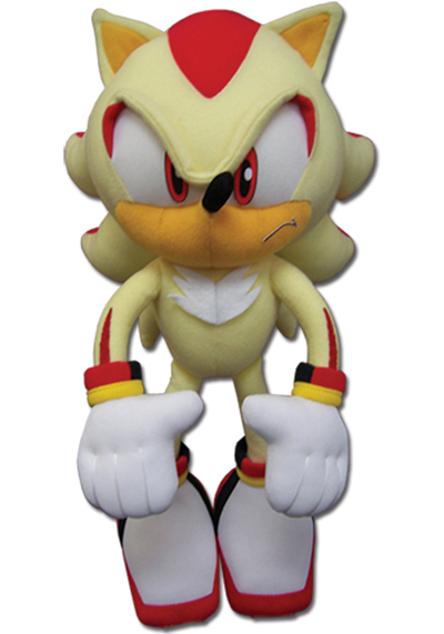 Sonic the Hedgehog Super Shadow 12 Inch Plush