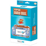Wii U GamePad Protector and Stylus Set Retro Mario