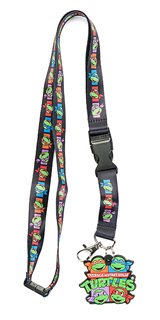 Teenage Mutant Ninja Turtles Lanyard With Charm