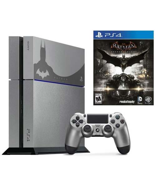 Sony Playstation 4 500GB Batman Arkham Knight Limited Edition Bundle