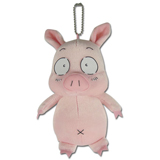 Accel World Haru Pig 6 Inch Plush Keychain