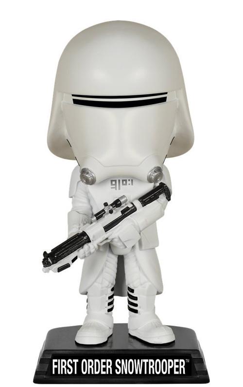 Star Wars EPS 7 First Order Snowtrooper Wacky Wobbler