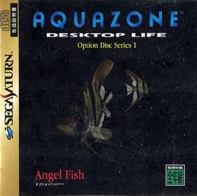 Aquazone Desktop Life Option Disk Series 1: Angel Fish