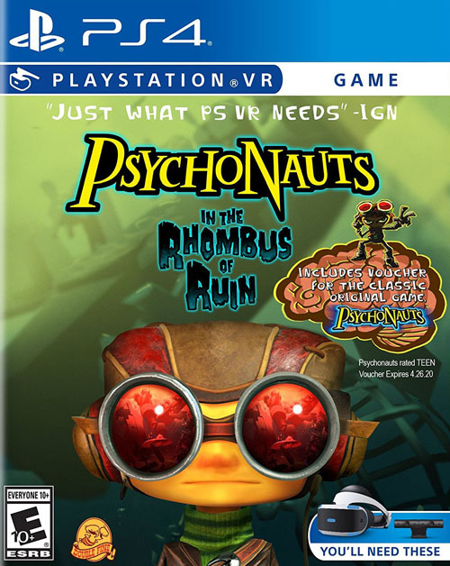Psychonauts: In the Rhombus of Ruin VR