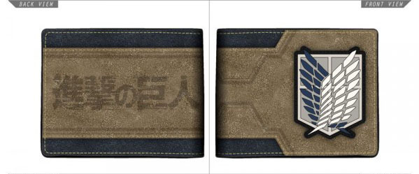 Attack on Titan Bi Fold Wallet