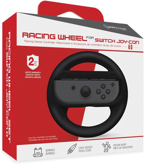 Nintendo Switch Racing Wheel Black