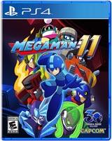 Mega Man 11 (PlayStation 4) boxart