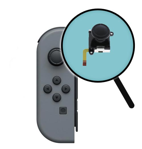 Nintendo Switch Repairs: Joy-Con Joystick Replacement Service