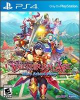Valthirian Arc (PlayStation 4) boxart