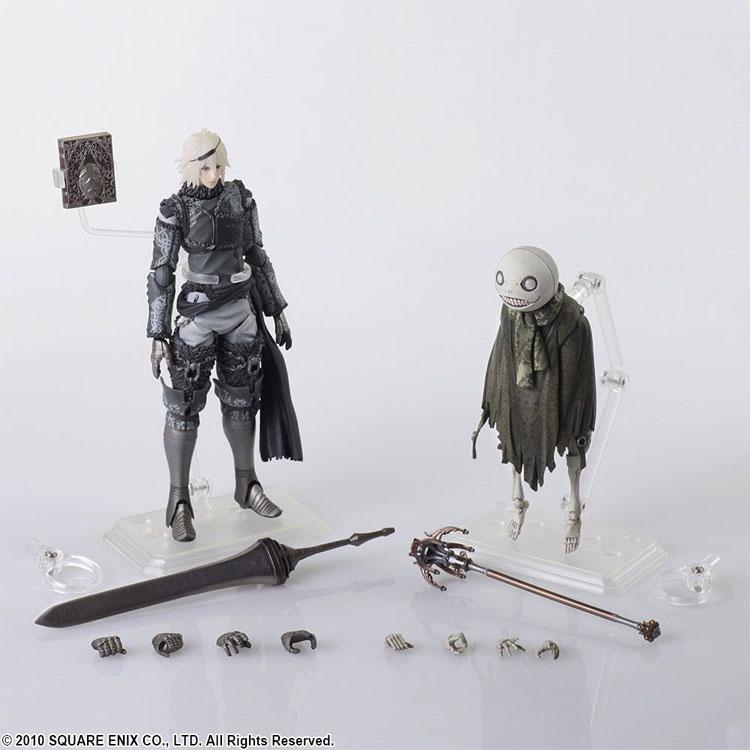 Nier Replicant Bring Arts Nier and Emil AF Set all items