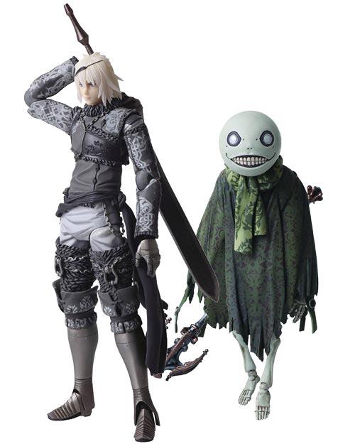 NieR Replicant: Bring Arts Nier & Emil Action Figure Set