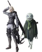 NieR Replicant: Bring Arts Nier & Emil Action Figure Set