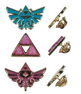 Legend of Zelda Twilight Princess Lapel Pin Set 3-Pack