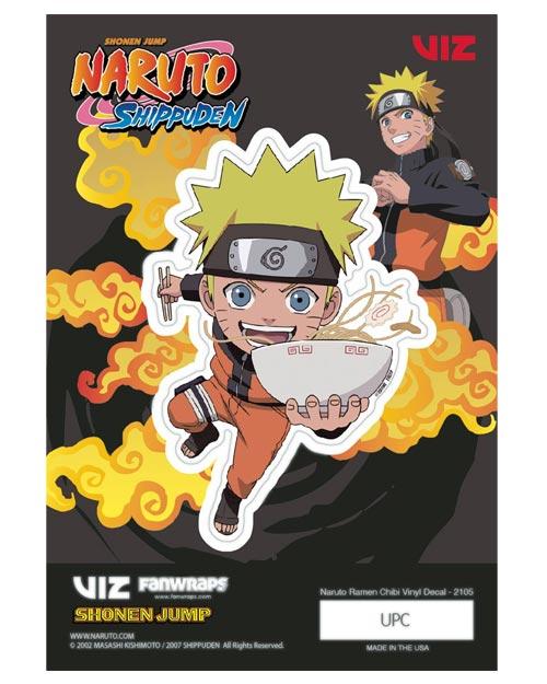 Naruto Shippuden Naruto Uzumaki Vinyl Decal