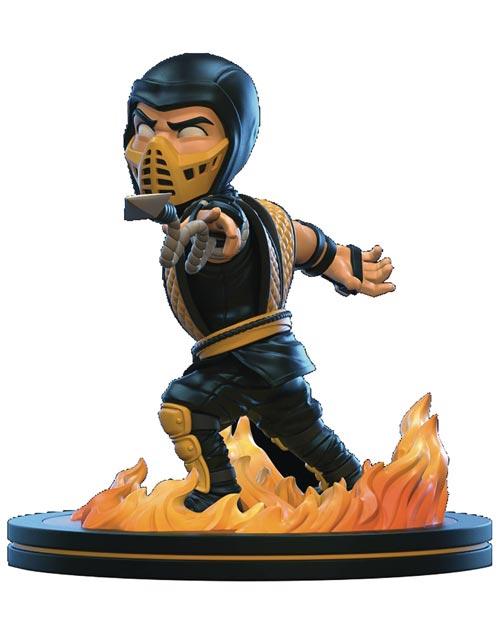 Mortal Kombat Scorpion Q-Fig Figure