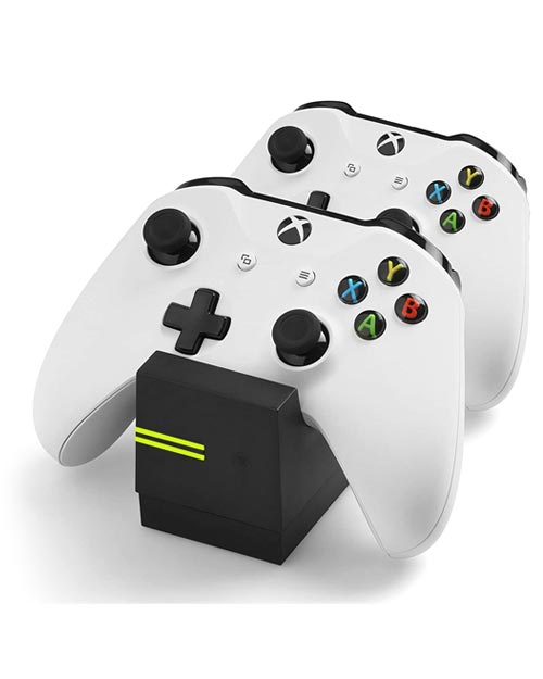 Xbox One Twin Charge X Controller Charging Station Black Snakebyte